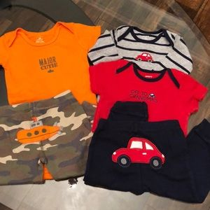2 Matching Sets Boys 12 Month Carter's Bundle